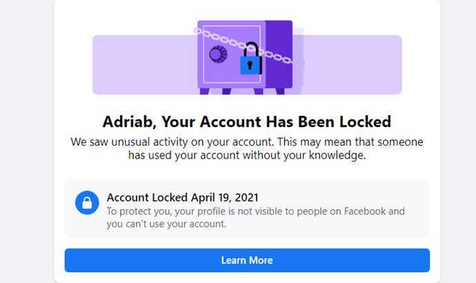 fb lock