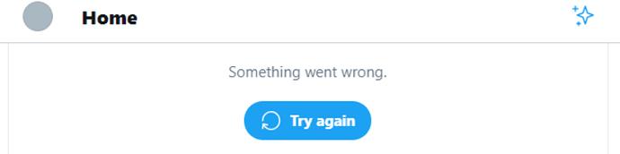 twitter error 1