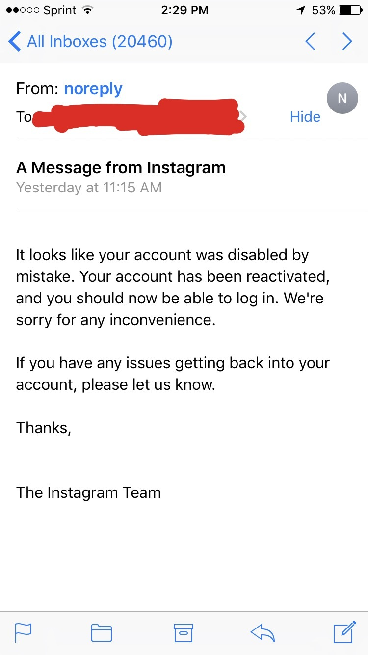 Question] Recovering my deactivated instagram account - Instagram