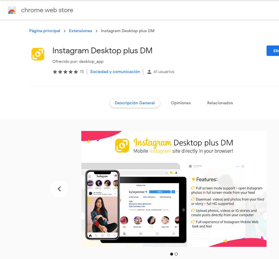 Instagram Desktop plus DM - Instagram Marketing - MP Social