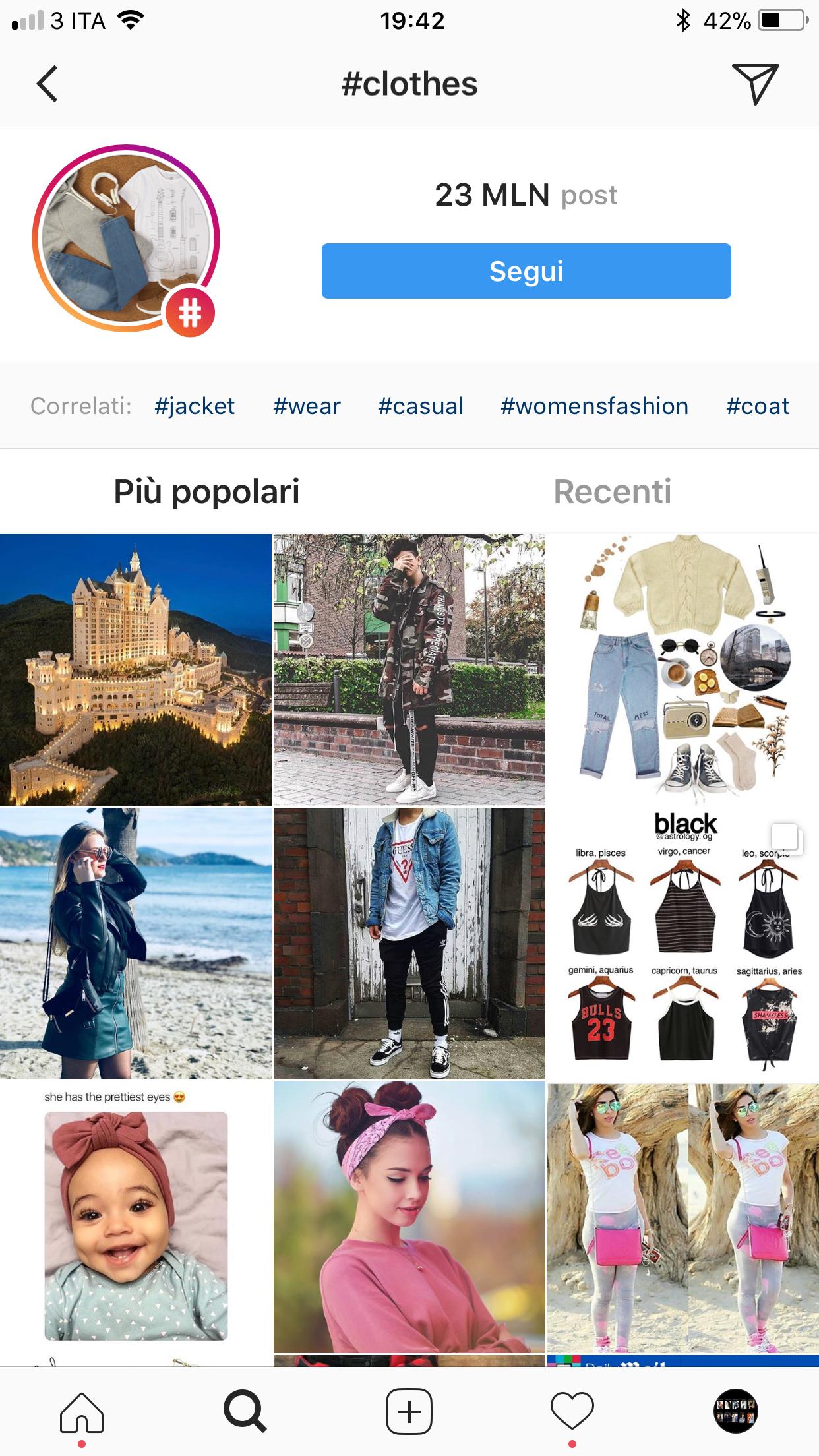 Risultati immagini per popular page instagram