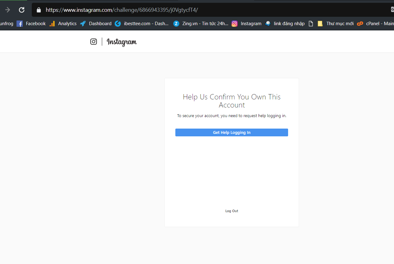 Can Not Loggin Instagram Help Us Confirm You Own This Account Instagram Marketing Mp Social