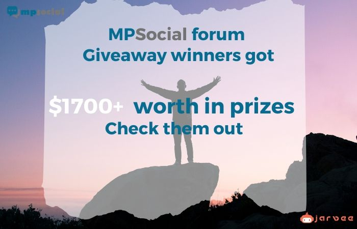 MPSocial Spring Giveaway 2020 Winners prizes