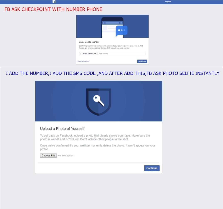 Facebook number phone problem - Facebook Marketing - MP Social